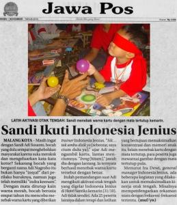 INDONESIA JENIUS - IndonesiaJenius.com - Training Aktivasi Otak Tengah Terbaik di Indonesia